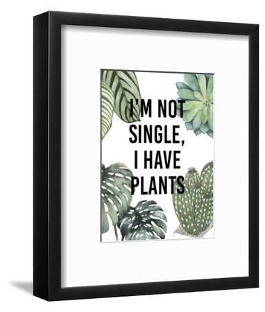 Plant Love V-Studio W-Framed Art Print