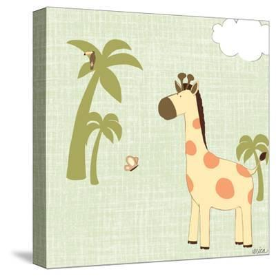 Baby Jungle I-June Vess-Stretched Canvas Print