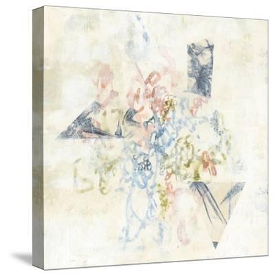 Pastel Scribble II-Jennifer Goldberger-Stretched Canvas Print
