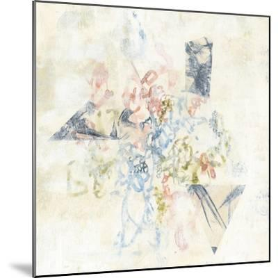 Pastel Scribble II-Jennifer Goldberger-Mounted Art Print