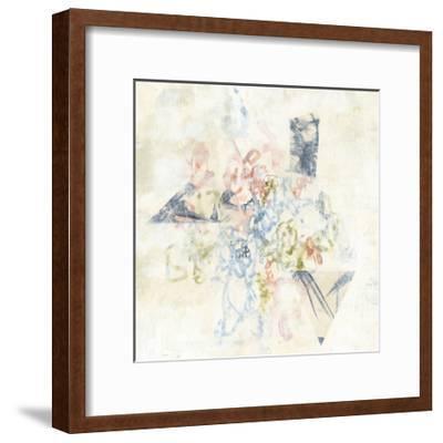Pastel Scribble II-Jennifer Goldberger-Framed Art Print