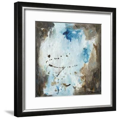 Blue Cliffs I-Joyce Combs-Framed Art Print