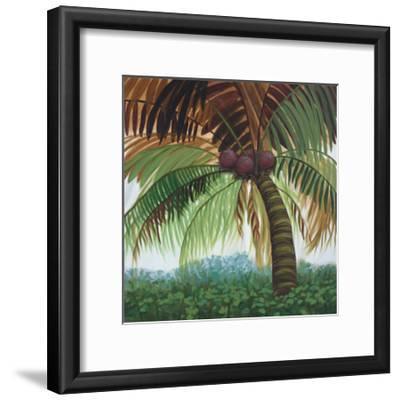 Tropic Palm II-Julie Joy-Framed Art Print