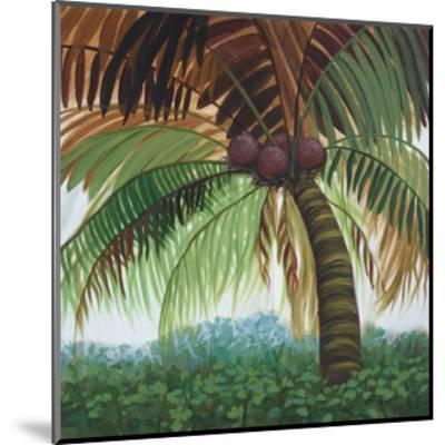 Tropic Palm II-Julie Joy-Mounted Art Print