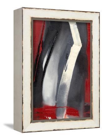 Red Streak III-Sharon Gordon-Framed Stretched Canvas Print