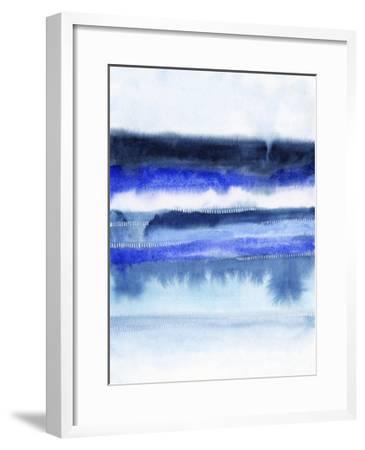 Shorebreak Abstract II-Grace Popp-Framed Art Print