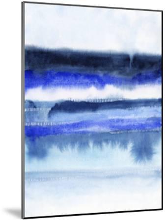 Shorebreak Abstract II-Grace Popp-Mounted Art Print