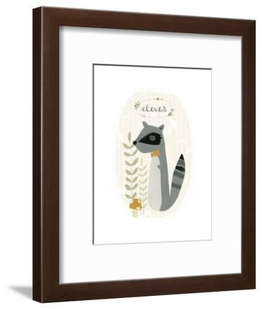 Quirky Forest III-June Vess-Framed Art Print
