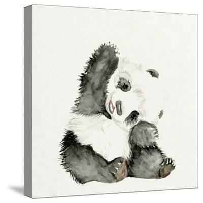 Baby Panda I-Melissa Wang-Stretched Canvas Print
