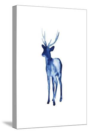 Ink Drop Rusa Deer II-Grace Popp-Stretched Canvas Print