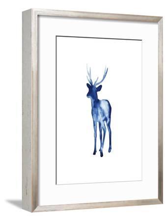 Ink Drop Rusa Deer II-Grace Popp-Framed Art Print