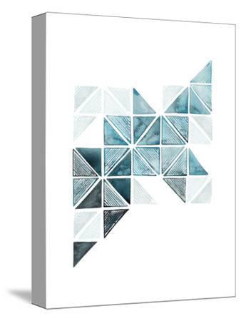 Jayda's Ladder II-Grace Popp-Stretched Canvas Print