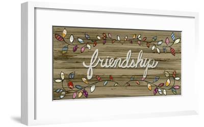 Love & Laughter II-June Vess-Framed Art Print