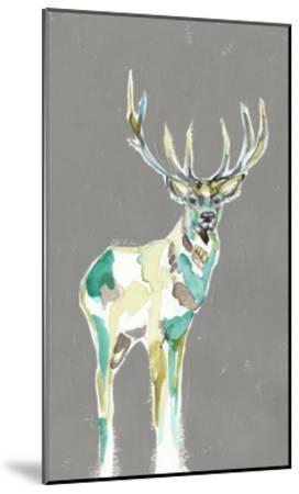 Solitary Deer I-Jennifer Goldberger-Mounted Art Print