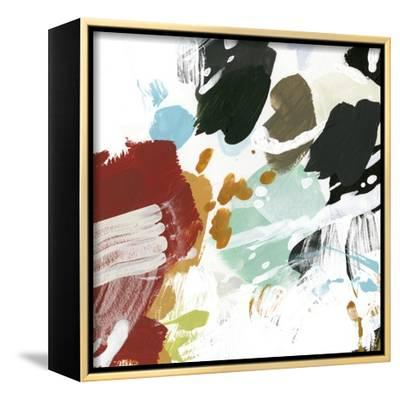 Syncopation IV-June Vess-Framed Stretched Canvas Print