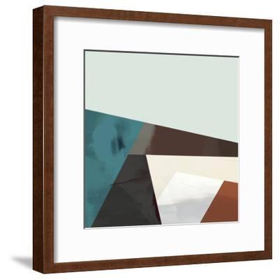 Block Detail I-Sisa Jasper-Framed Art Print