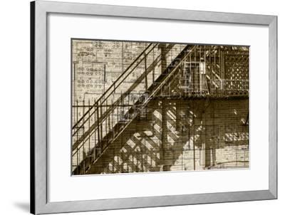 Architecture Drawing I-Sisa Jasper-Framed Art Print