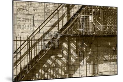 Architecture Drawing I-Sisa Jasper-Mounted Art Print