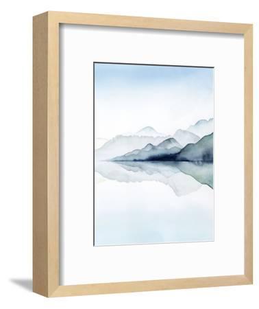 Glacial II-Grace Popp-Framed Art Print