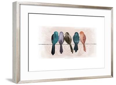 Afternoon Twitter II-Grace Popp-Framed Art Print