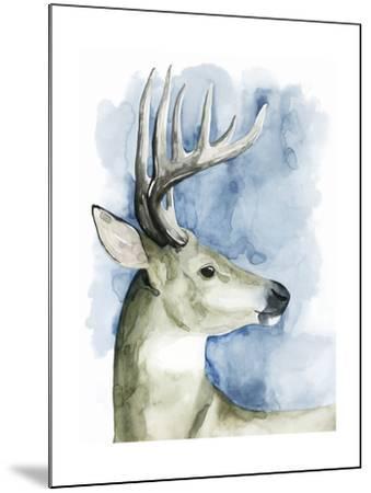 Wandering Stag II-Grace Popp-Mounted Art Print