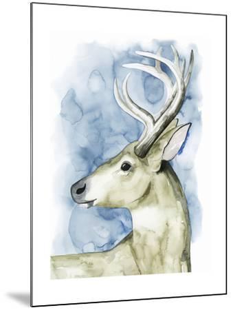 Wandering Stag I-Grace Popp-Mounted Art Print