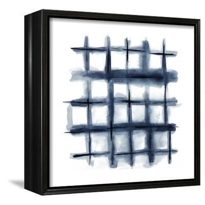 Indigo Study III-Chariklia Zarris-Framed Stretched Canvas Print