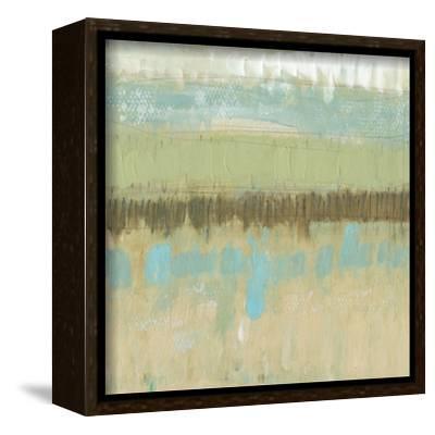 Pastel Textures I-Jennifer Goldberger-Framed Stretched Canvas Print