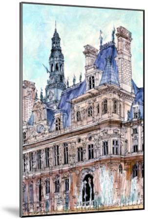 City Scene VIII-Melissa Wang-Mounted Art Print