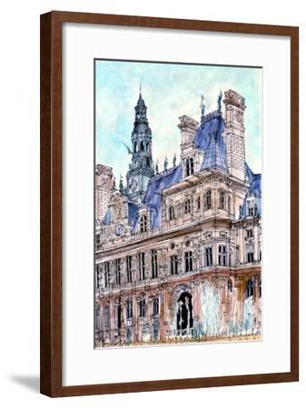 City Scene VIII-Melissa Wang-Framed Art Print