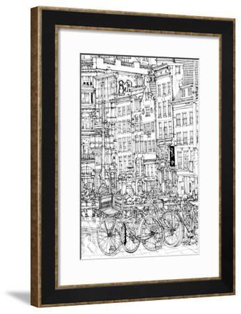 B&W City Scene I-Melissa Wang-Framed Art Print