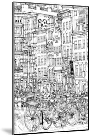 B&W City Scene I-Melissa Wang-Mounted Art Print
