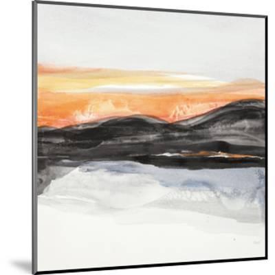 Taos Reflection-Chris Paschke-Mounted Premium Giclee Print