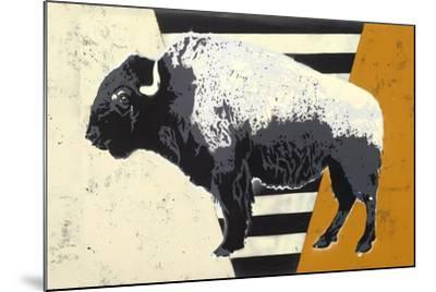 Bison-Urban Soule-Mounted Premium Giclee Print