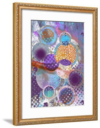Patterned Circles 3-THE Studio-Framed Premium Giclee Print