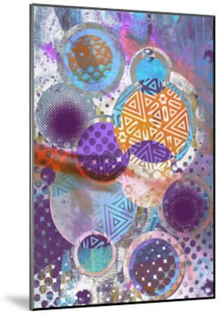 Patterned Circles 3-THE Studio-Mounted Premium Giclee Print