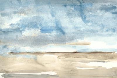Landscape Watercolor 1-Natasha Marie-Framed Premium Giclee Print