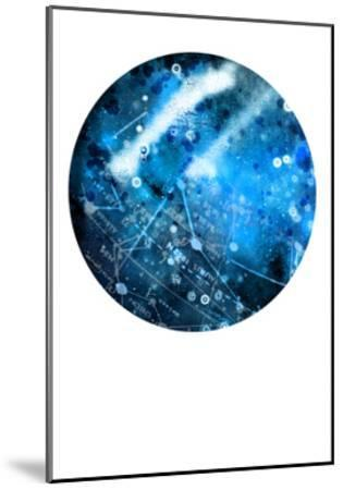 Interstellar Sphere 1-Katie Todaro-Mounted Premium Giclee Print