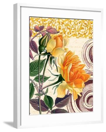 Yellow Roses-Piddix-Framed Art Print
