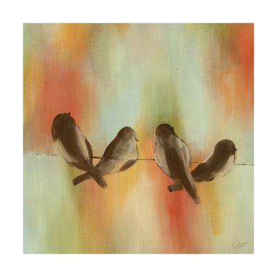 Birds of Summer I-Jeni Lee-Framed Art Print