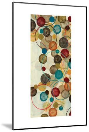 Calypso Panel III-Jeni Lee-Mounted Art Print