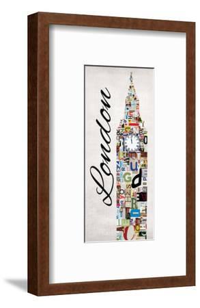 London Letters-Jeni Lee-Framed Art Print
