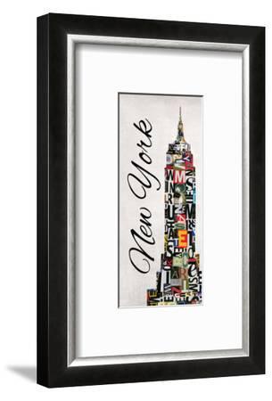 New York Letters-Jeni Lee-Framed Art Print