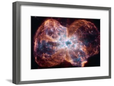 The Colorful Demise of a Sun-like Star Space Photo--Framed Poster