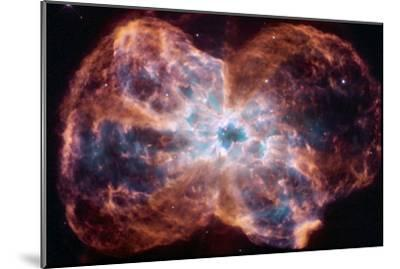 The Colorful Demise of a Sun-like Star Space Photo--Mounted Poster