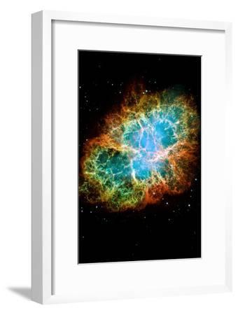 Crab Nebula Space Photo--Framed Poster