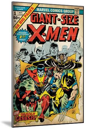 Marvel Comics Retro: The X-Men Comic Book Cover No.1 (aged)--Mounted Poster