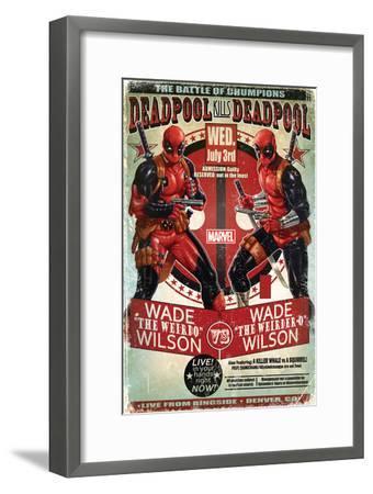 Deadpool--Framed Poster