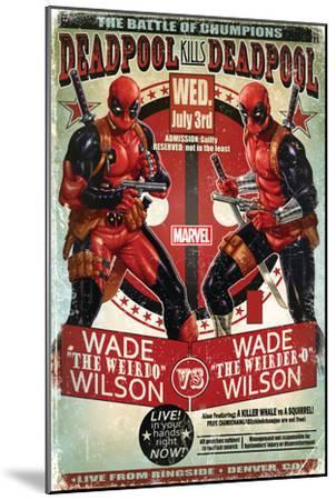 Deadpool--Mounted Poster
