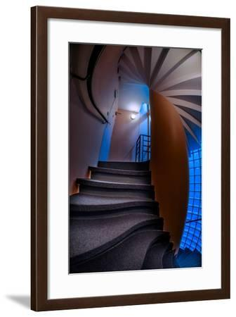 de Conde Stairwell-Steven Maxx-Framed Photographic Print